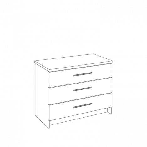 Chest of Drawers - 3 Drawers