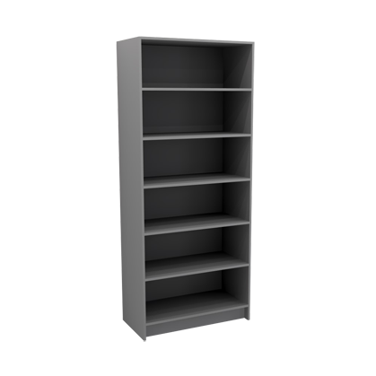 Open Tall File and Book Storage