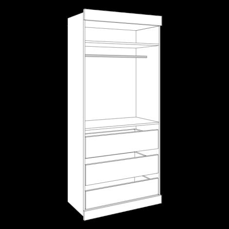 Open Wardrobe - Wide
