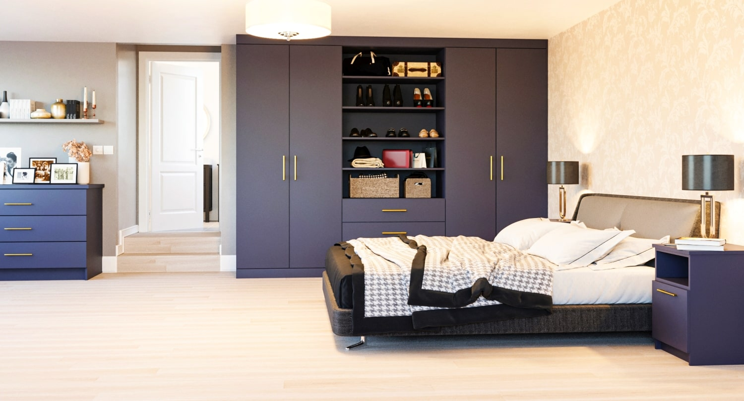 DIY Fitted Wardrobes - Made To Measure, Supply Only Fitted ...