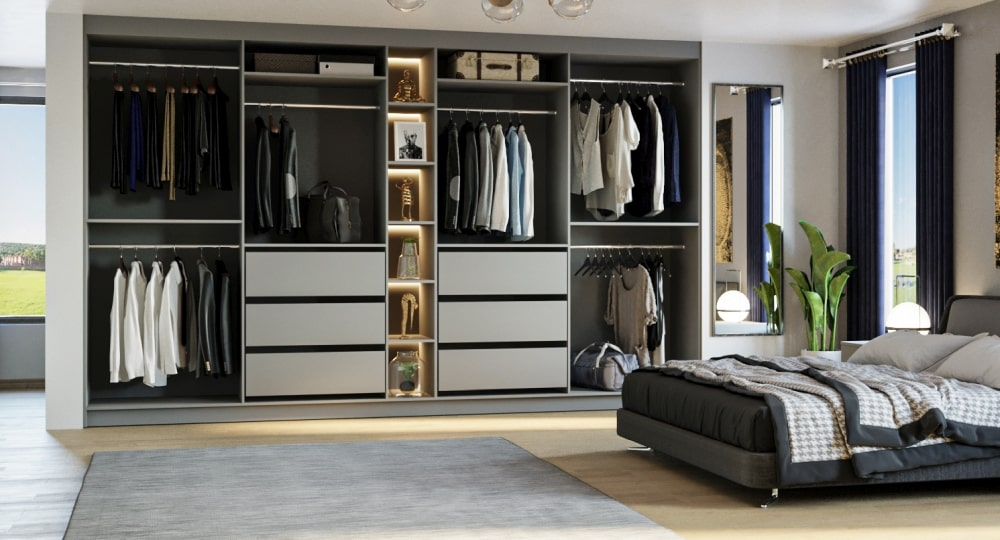 Planning The Inside Of Your Fitted Wardrobes