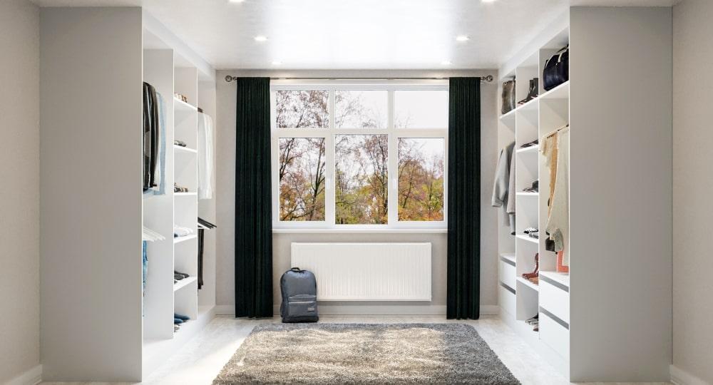 Turn A Spare Bedroom Into A Walk-In Wardrobe