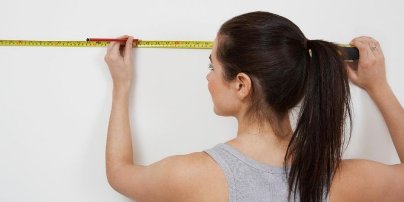 measuring wardrobe