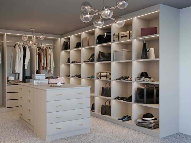bespoke walk-in wardrobes