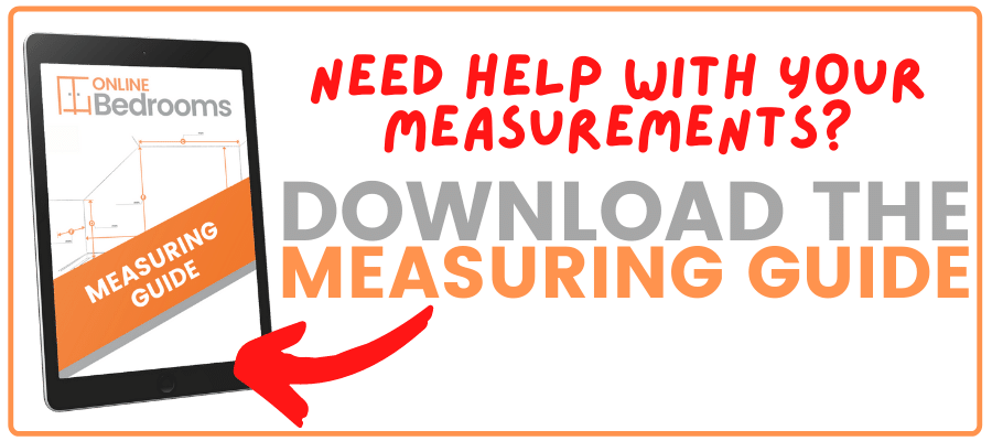 fitted wardrobe measuring guide