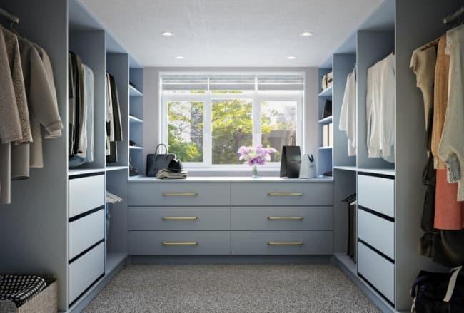 DIY walk in wardrobes